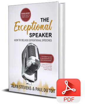 The Exceptional Speaker – ePub book